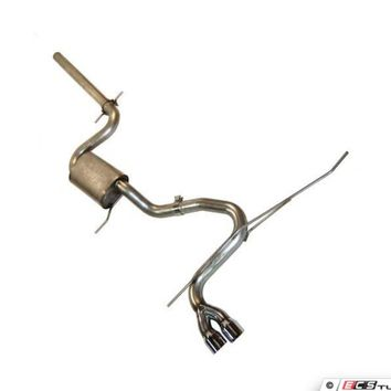 "MK5 Rabbit/MK6 Golf 2.5"" Cat-Back Exhaust System"