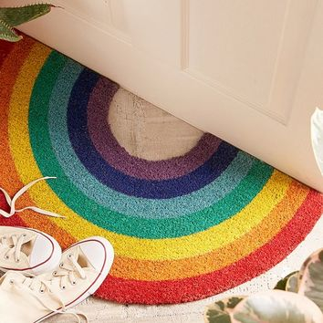 Sunnylife Rainbow Doormat | Urban Outfitters
