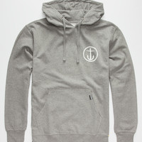 Captain Fin Original Anchor Mens Hoodie Heather  In Sizes