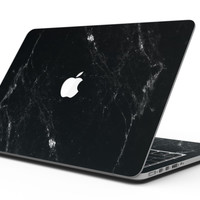 Slate Black Scratched Marble Surface - MacBook Pro with Retina Display Full-Coverage Skin Kit