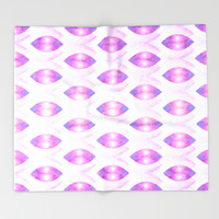 The Kiss Throw Blanket by Octavia Soldani | Society6