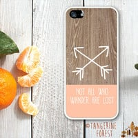 Not All Who Wander Are Lost. iPhone 4 // 4s // 5 // 5s // 5c Case