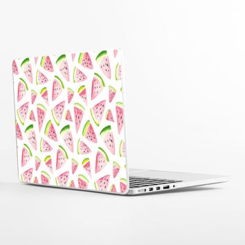 Watercolor Watermelon Laptop Skin