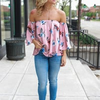 Cali Roots Top - Blush