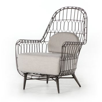 TALA OUTDOOR WING CHAIR