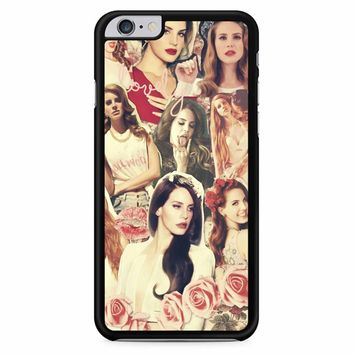 Lana Del Rey Born To Die Black iPhone 6 Plus / 6s Plus Case