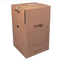 Bankers Box SmoothMove Moving Boxes Wardrobe, 24 x 24 x 40 Inches, 3 Pack (7711001)