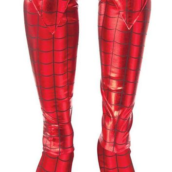 MARVEL SPIDER-GIRL ADULT COSTUME BOOT TOPS