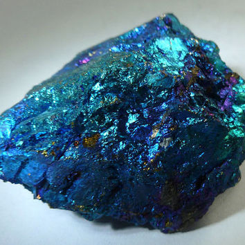 CHALCOPYRITE PEACOCK ORE Galaxy Raw Natural Crystal Stones | One Pound
