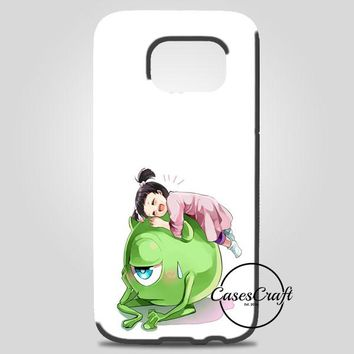 Monster Inc Cute Mike And Boo Samsung Galaxy Note 8 Case | casescraft