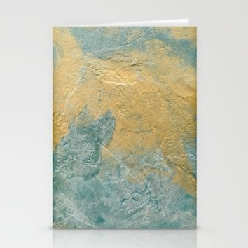 Copper Turquoise #03 Stationery Cards by Corbin Henry