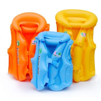 Kids Inflatable Swim Pools Vest Adjustable PVC Kids' Floats Baby Water fun toy Swimsuit Children Water Toy