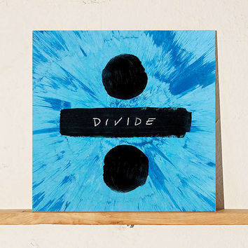 Ed Sheeran - Divide LP - Urban Outfitters