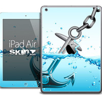 The Anchor Splashing Skin for the iPad Air, iPad Mini, iPad 1st, 2nd, 3rd or 4th Generation