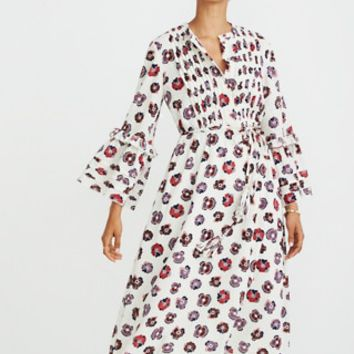 Madewell x Karen Walker® Floral Fantasia Ruffled Dress