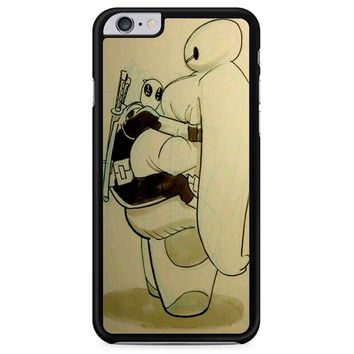 Deadpool And Baymax iPhone 6 Plus/ 6S Plus Case