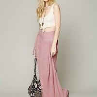 Free People Spinner Maxi Skirt