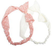 Bow Headwrap 2-Pack | Wet Seal