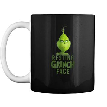 Dr. Seuss The Grinch Resting Grinch Face  Mug