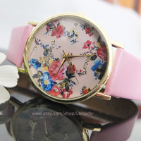 Chinese wind restoring ancient ways roses watches lovers watches for men and women all appropriate watches