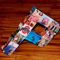 Custom Photo Collage letter Children's, Girlfriend, College Dorm Room Wedding Birthday Photo Letter Picture Letter Personalized Monogram 3D