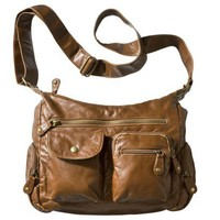 Bueno Lt Bronze Washed Shoulder Bag