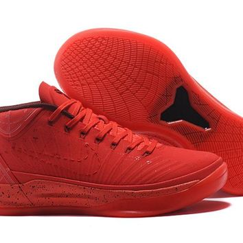 AUGUAU N276 Nike Zoom Kobe Mid AD EP Flyknit Actual Basketball Shoes Red