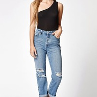 LA Hearts One Shoulder Bodysuit at PacSun.com