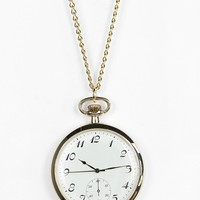 Watch Pendant Necklace - Urban Outfitters