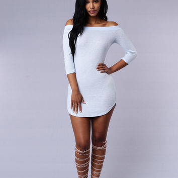 Roxy Dress - Light Blue