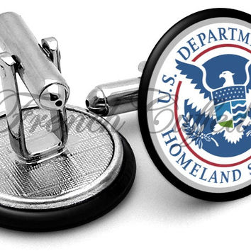 Homeland Security Cufflinks