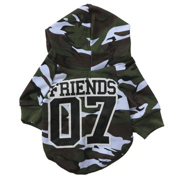 pet dog clothes winter warm dog coat Camouflage chihuahua puppy dog coat Dog pet clothes  vetements