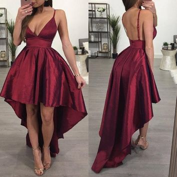 Women Formal Long Ball Gown Party Cocktail Wedding Bridesmaid Dress