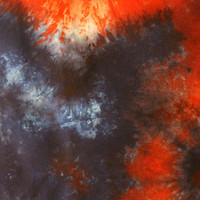 """Red, White, and Blue All Over / Hand-Dyed Fabric / 1 Yard / 54"""" X 36"""""""