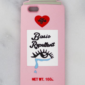 Pink Basic Repellent iPhone Case