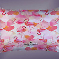 "Hot New Rare Kate Spade Flamingo Custom Pillow Case 16""x24"" Limited Edition"
