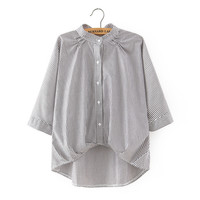 Summer Korean Ruffle Shirt [8173528583]