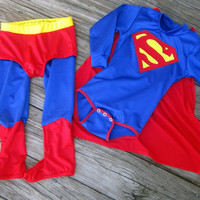 Superman Inspired Custom Fit Baby/Toddler by tracyray98 on Etsy