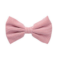 FOREVER 21 Pinstriped Bow Barrette