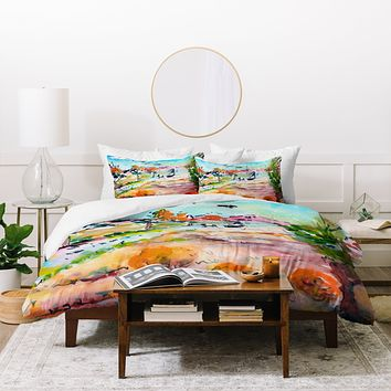 Ginette Fine Art Home For The Holidays Duvet Cover