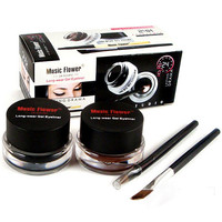 Professional Black Waterproof Cosmetics Eye Liner Gel Eyeliner Pens Tool Set 51NA smt 101