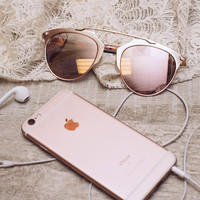 Golden Age Sunglasses - Rose Gold