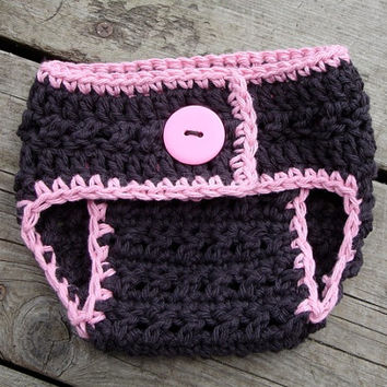 Crochet Pattern for X-Factor Diaper Cover - 3 sizes, Newborn Baby to 12 months - Welcome to sell finished items