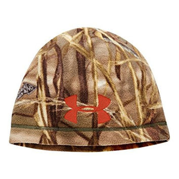 Under Armour Men's UA Outdoor Camo Fleece Beanie One Size REALTREE MAX 5