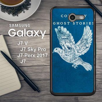 Coldplay Ghost Stories F0857 Samsung Galaxy J7 V , J7 Sky Pro, J7 Perx 2017 SM J727 Case