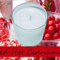 Red Hot Cinnamon Scented Candle in Tumbler 13 oz