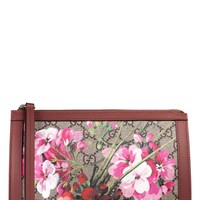 Gucci Small GG Blooms Canvas Cosmetics Case | Nordstrom