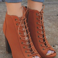 Gypsy Ways Bootie - Whiskey