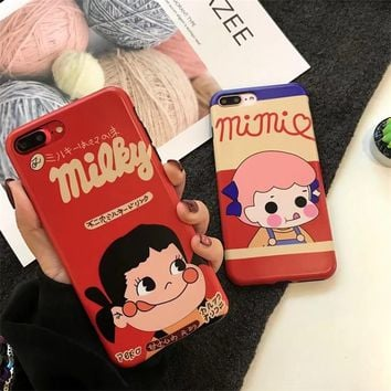 Strawberry Milk Girl Phone Case