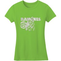 Ramones  Gabba Foil Junior Top Green